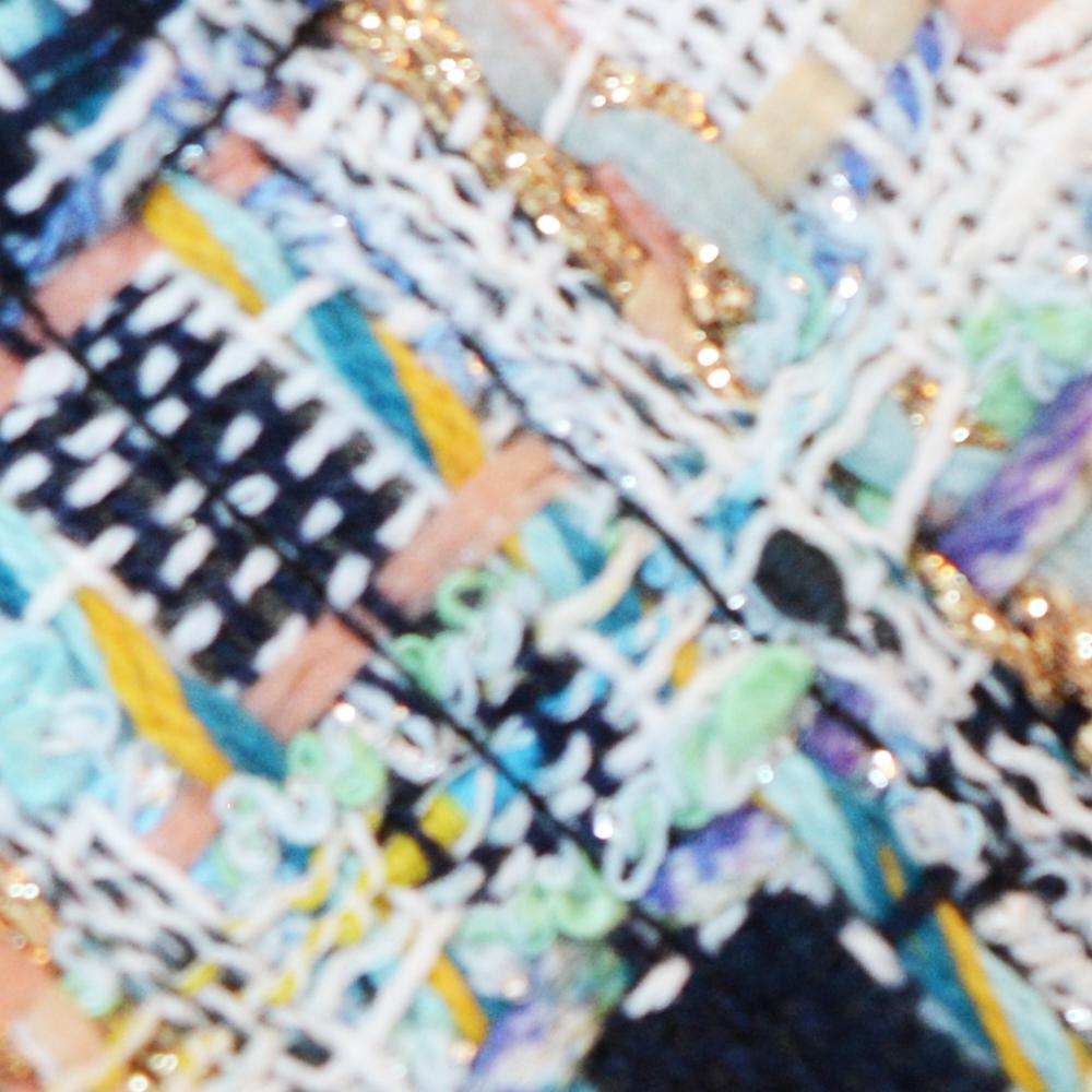Blue Luxurious Tweed