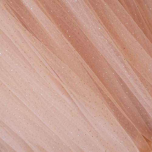 Gold Nude Soft Tulle