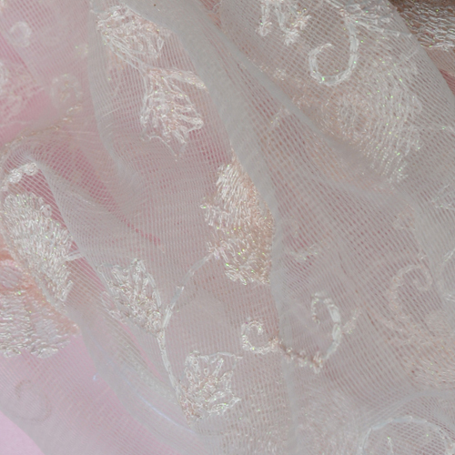 Very Pale Pink Lace