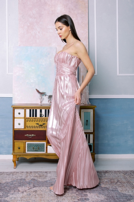 Rochie Rose Gold